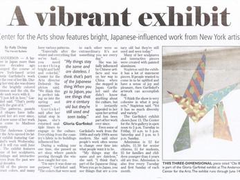 Herald Bulletin, A Vibrant Exhibit
