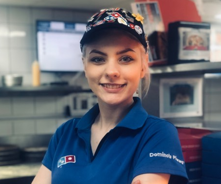 Q&A WITH A DOMINO'S STORE MANAGER – AIMEE