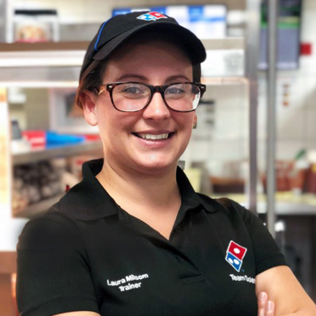 Q&A WITH A DOMINO'S AREA TRAINER – LAURA