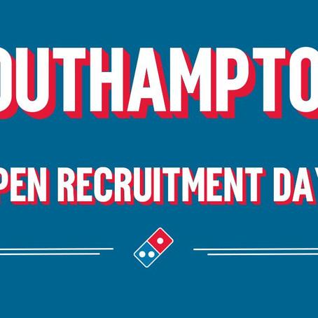 SOUTHAMPTON - OPEN RECRUITMENT DAY!