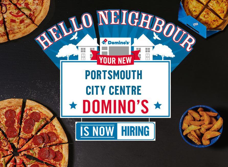New domino's job