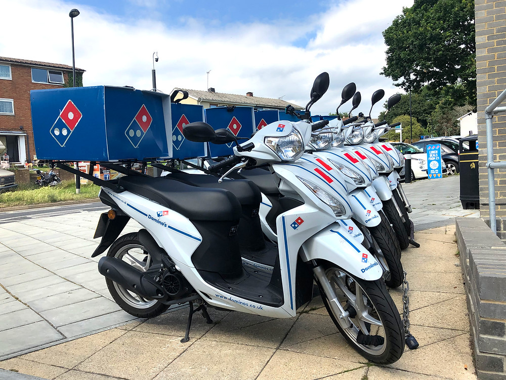 moped driver jobs southampton