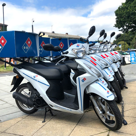 MYTH-BUSTER: MOPED DELIVERY DRIVERS NEED MOPEDS...NOT!