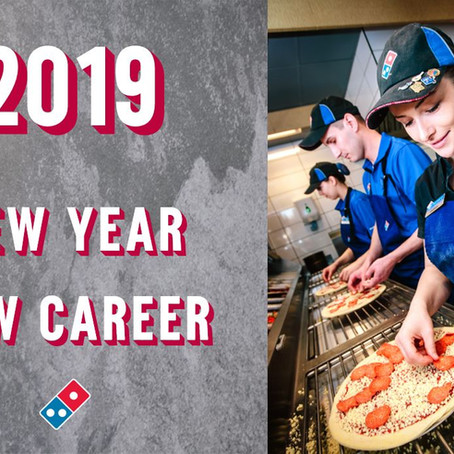 2019 - NEW YEAR NEW CAREER