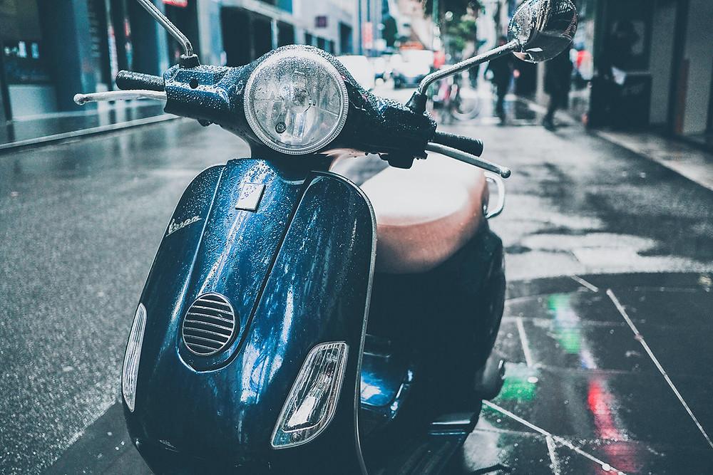 moped driver job