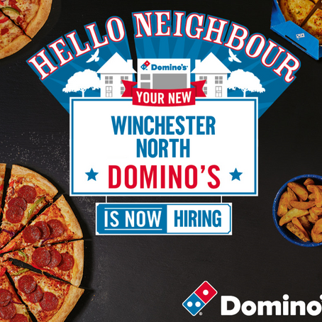 NEW DOMINO'S STORE OPENING SOON - #27