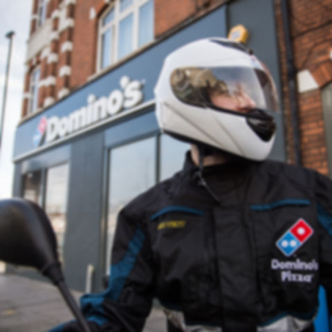 Domino's Moped Delivery Driver Job