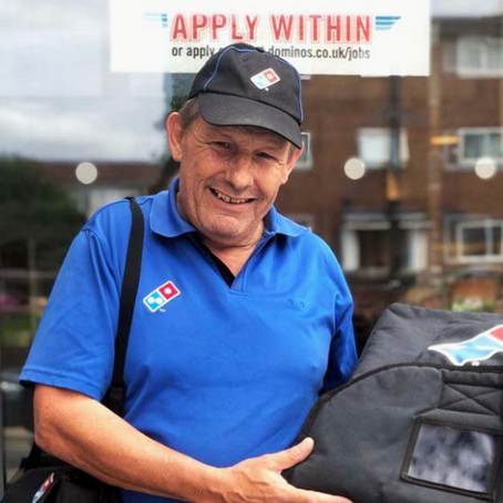Q&A WITH A DOMINO'S DELIVERY DRIVER – MELVYN
