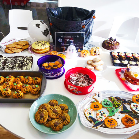 Teenage Cancer trust - great office bake off!