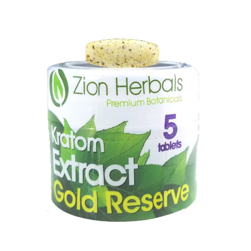 Zion Herbals 5 Capsules Gold Reserve Extract