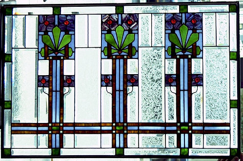 American Stained/Beveled Glass Window #430B