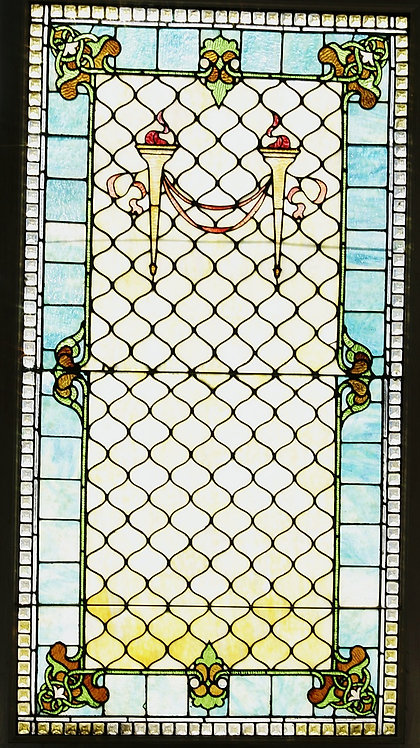 American Stained Glass Window #307