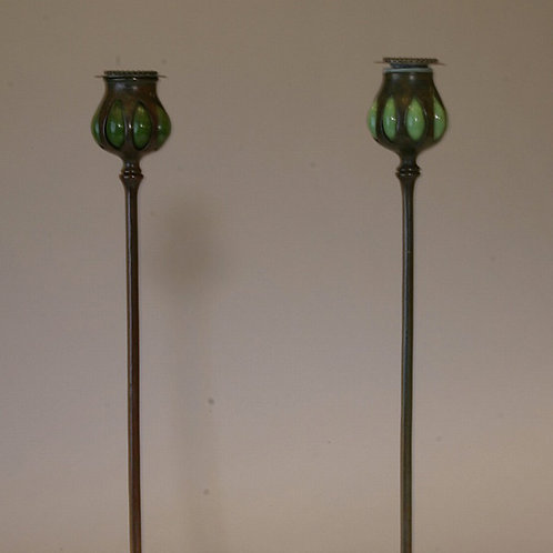 Tiffany Candlesticks Pair