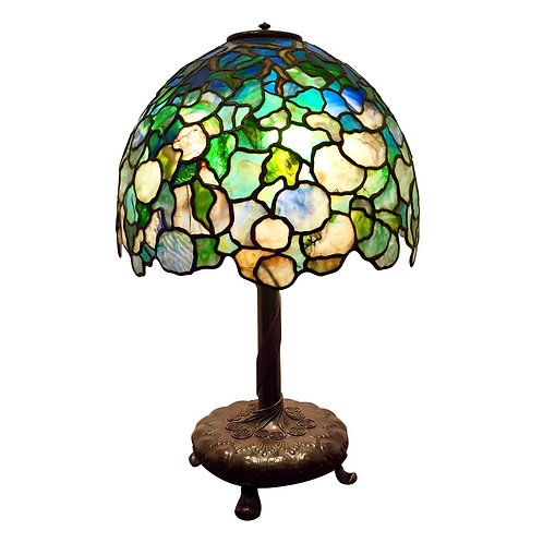 """Tiffany 16"""" Hydrangea Lamp"""