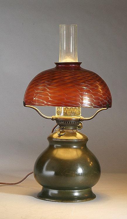 Tiffany Studios Favrile Oil Lamp