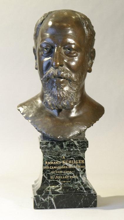 Bronze Bust signed Mailhard