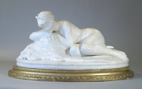 Marble Reclining Woman