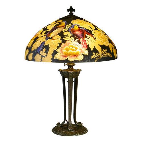 Handel 18″ Parrot Lamp