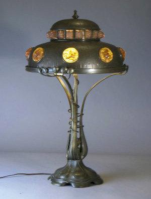 Austrian Chunk Jewel Lamp