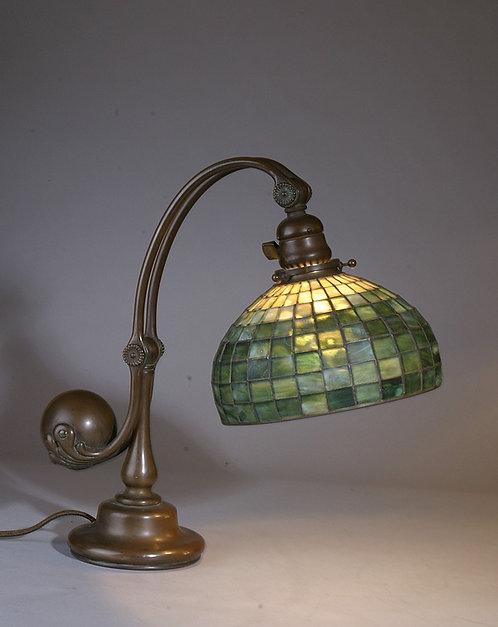 Tiffany Studios Leaded Counter Balance Desk Lamp