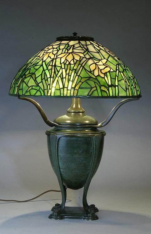 Tiffany Studios 16″ Long-Stemmed Daffodil Lamp