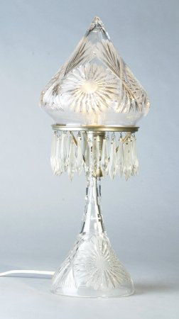 American Cut Crystal Lamp