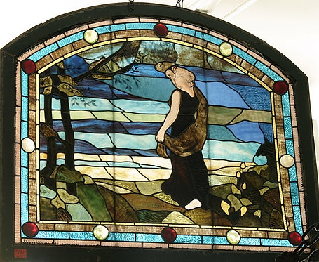 American Stained Glass Window #101