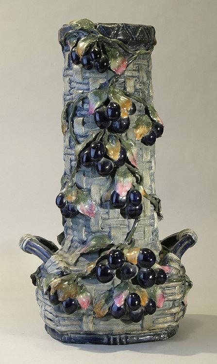 Amphora Grape Vase