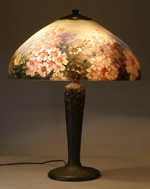 Handel Reverse Painted 18″ Lamp