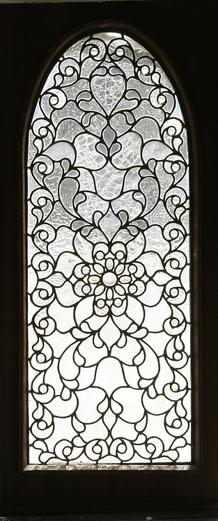 American Jeweled Glass Window #221