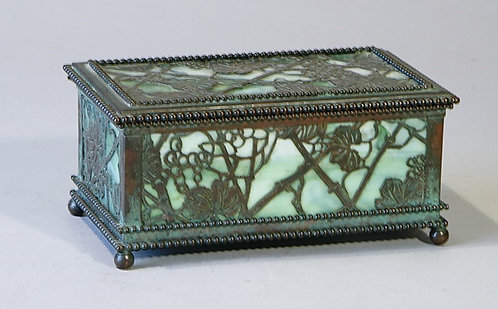 Tiffany Grapevine Box