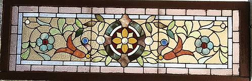 American Stained Glass Window #354