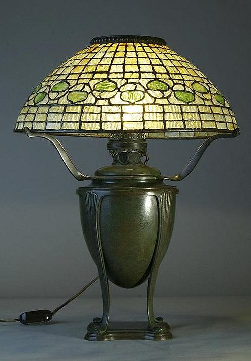 Tiffany Studios Acorn Lamp