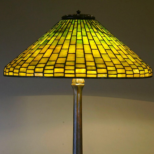 Tiffany Studios Geometric Lamp