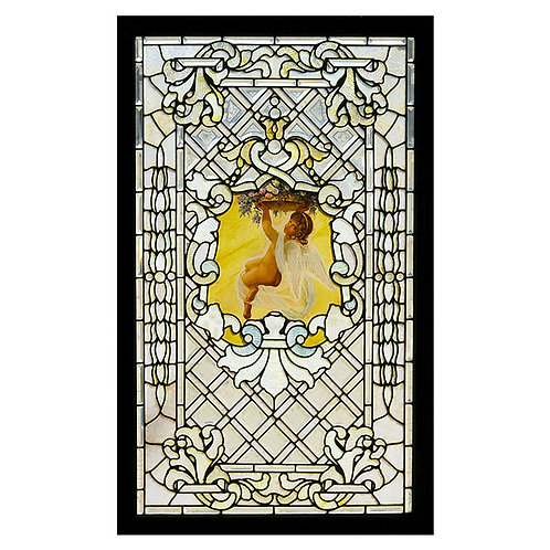 American Stained Glass/Beveled Window #59