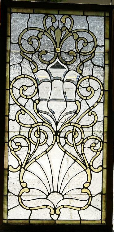 American Beveled Glass Window #344