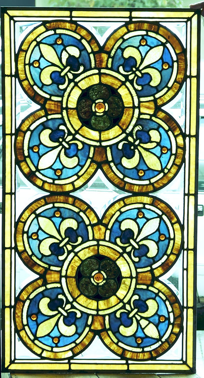 American Stained Glass Window #408