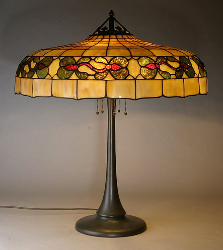 Handel Leaded Lamp