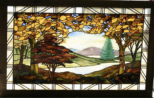American Stained Glass Window #102