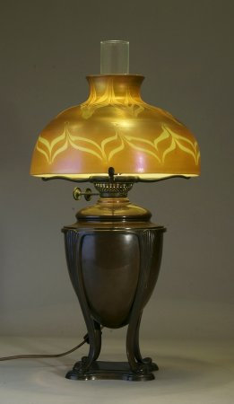 Tiffany Studios Oil Lamp