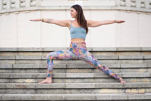 Kew Tropics - Hot Pink - Yoga Pants