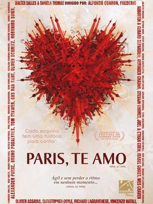 """12/09 - """"Paris, Te Amo"""" e """"Fotografia, Poemas e Textos"""""""