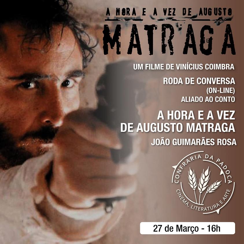 """João Guimarães Rosa e Vinícius Coimbra em """"A Hora e a Vez de Augusto Matraga"""""""