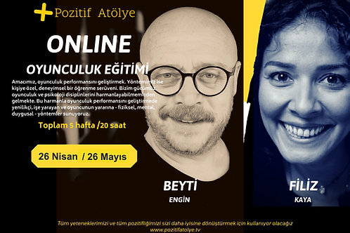 Online Oyunculuk Eğitimi 26 Nisan