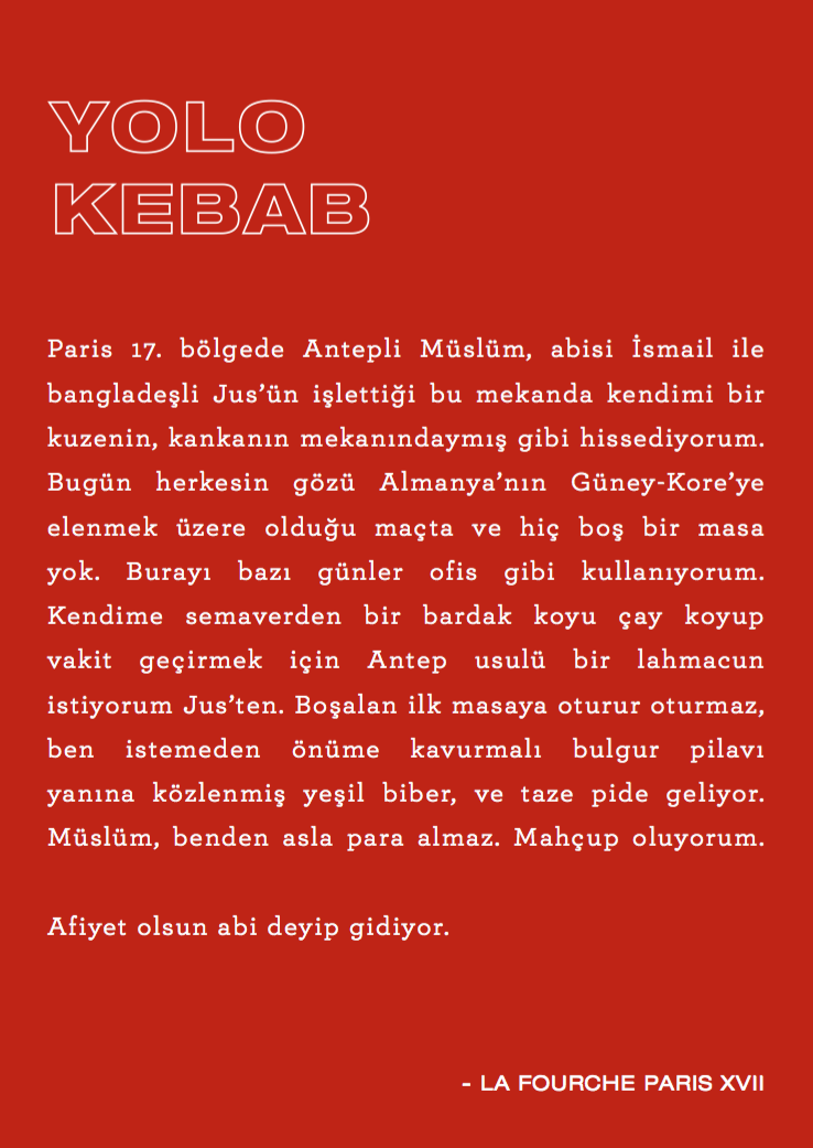 Turkish text ex