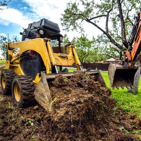 Skid Steer, Bash Excavating, Kansas City