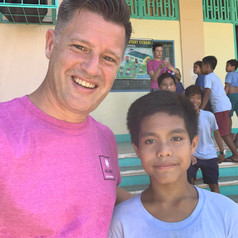 Joshua and his family have been volunteering in the Philippines for over 20 years.