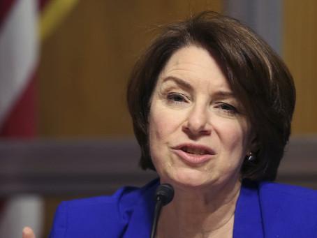 Sen. Amy Klobuchar sparks new debate on business competition