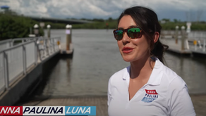 Anna Paulina Luna calls for federal red tide aid in latest campaign push