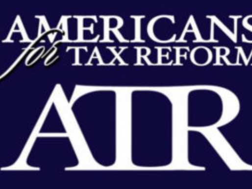 Conservative Coalition Supports Tax Reform 2.0 Legislation